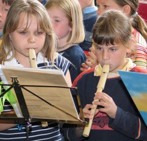 Holzblasinstrumente-Blockflöten