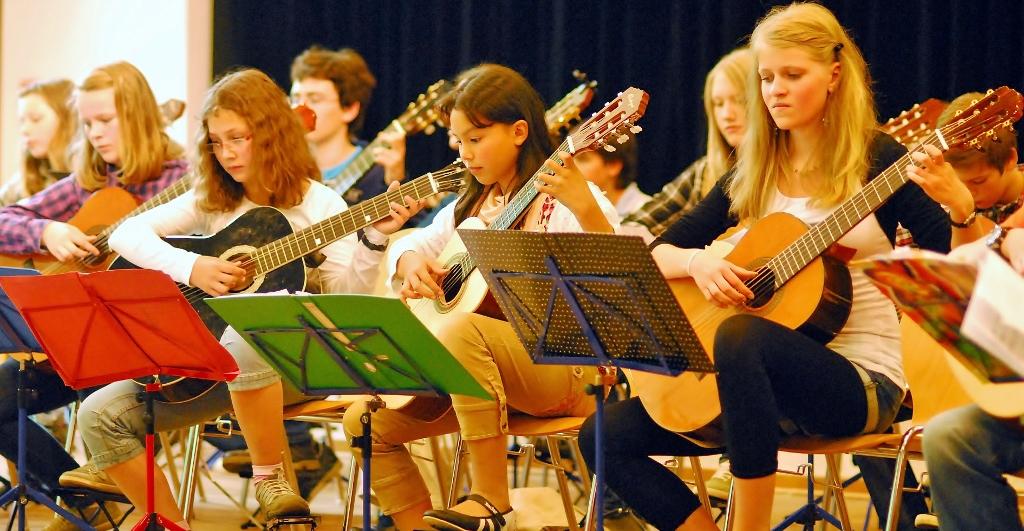 Zupfinstrumente - Klassische Gitarre